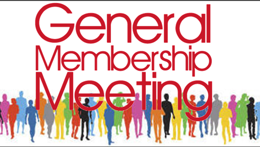 February 24, 2021 General Membership Meeting Documents