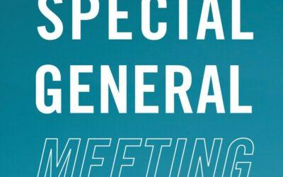 Special Membership Meeting Tonight