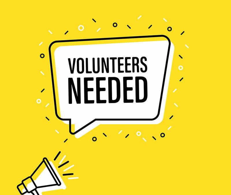 VDLC – Volunteers Needed for Community Events